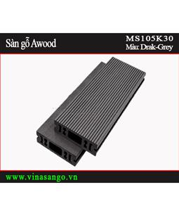 Sàn gỗ Awood - MS105K30-Dark-Grey