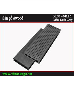 Sàn gỗ Awood - MS140K25-Dark-Grey
