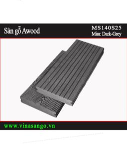 Sàn gỗ Awood - MS140S25-Dark-Grey